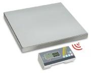 Balance plate-forme radio - Portée  max : De 35 à 300 kg - Lecture [d] (g) : de 10 à 100