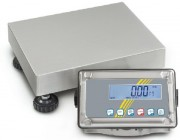 Balance plateforme en inox - Portée max (kg) : de 6 à 300 - Lecture [d] (g) : de 2 à 50