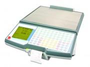 Balance poids prix avec ticket à plateau amovible - Dimensions de la balance (mm) : 382 x 501 x 178