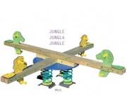 Balancier en bois pour enfants - Bois stratifié traité en autoclave classe IV