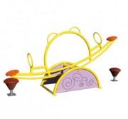 Balancier en polyéthylène pour aire de jeux - Âges d'usage : De 3 à 12 ans
