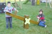 Balançoire à bascule pour enfants - Tranche d'âge 2 à 7 ans