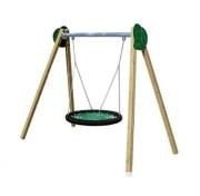 Balançoire en bois pour aire de jeux - Bois stratifié traité en autoclave classe IV
