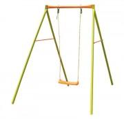 Balançoire en métal pour enfants - Dimensions hors tout (L x l x H) cm : 132 x 185 x 190