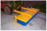 Balayeuse à brosse pour chariot élévateur - Hauteur de brosse (cm) : 30