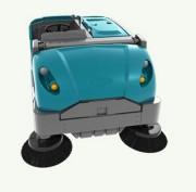 Balayeuse autoportée taille moyenne - Nettoyage de surfaces intérieures et extérieures