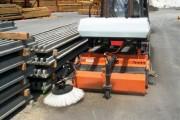 Balayeuse Chargeur compact sur pneus - Bema 20