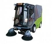 Balayeuse de rue électrique - Système de balayage : 2 balais poussés