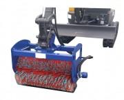 Balayeuse hydraulique pour mini pelle - Pour mini pelle à partir de 2 tonnes