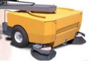 Balayeuse industrielle pour chariot élévateur - Capacité de collecte : 409 kg