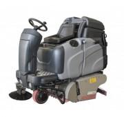Balayeuse laveuse faible consommation - Groupe de lavage balayage 850 mm de largeur de travail