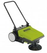 Balayeuse manuelle industrielle - Larg totale de balayage: 670mm  -   Capacité bac déchets : 30l