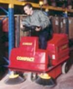 Balayeuses autoportées - COMPACT 1150 S (à essence)- COMPACT 1150 E (électrique)
