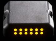 Balise LED clignotante de sécurité et de signalisation - Matériau : Aluminium - Faible consommation énergétique