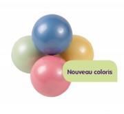 Balles de scène PVC nacrée - 3 Diamètres balles disponibles (mm) : 70 - 80 - 100