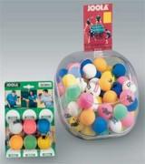 Balles de tennis de table couleurs vives - Balles de couleurs