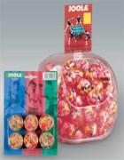 Balles de tennis de table multicolor - Set balles / 3 diamètres