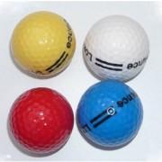 Balles minigolf collectivités - Faible rebond - Mélange de 4 couleurs