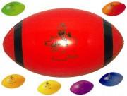 Ballon d'initiation rugby - Matière : PVC - Diamètre : 150 / 165 mm