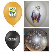 Ballon de baudruche en latex - Classique ou rond