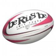 Ballon de match rugby féminin - Vessie en latex et valve sur panneau