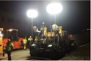 Ballon éclairants à lampes LED - Ballon éclairants pour chantier jusqu'à 1050 m²