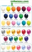 Ballon imprimé personnalisé - 99€ pour 500 ballons Ø 33 cm imprimés sur 1 face / 1 couleur