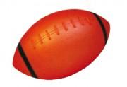 Ballon rugby plastique pour enfants - Matière : PVC souple - Diamètre : 110 mm