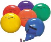 Ballon sonore plastique a grelots pour malvoyants - Ballon sonore avec grelots 18 cm en plastique