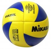 Ballon volley mikasa MVA350L - Championnats benjamins et milieux scolaires - Matière : Synthétique