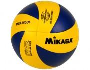 Ballon volley mikasa MVA350UL - Initiation des débutants - Matière : Synthétique