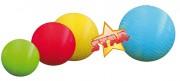 Ballons caoutchouc - Diamètres (mm) : de 120 à 210