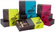 Ballotin de chocolat pour cadeaux d'affaires - Composés d'une couverture à 70% de cacao