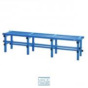 Banc anti corrosion pour piscine - Dimensions (L x l x h) : 100 x 40 x 45 cm