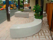 Banc béton tetris C - Poids : 820  - 795 kg