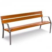 Banc bois extérieur - Longueur: 1800 mm
