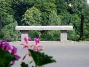 Banc cimetière granit - Longueur: à partir de 100 cm
