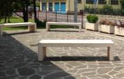 Banc d'extérieur en béton - Modèles sans assises