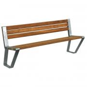 Banc d'extérieur en bois L 1800 mm - Longueur (mm) : 1800