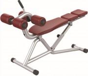 Banc de musculation abdominal - Poids : 38 kg  -  Norme européenne EN957