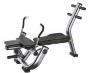 Banc de musculation Abdominaux crunch - Poids: 40 kg - Norme européenne EN957