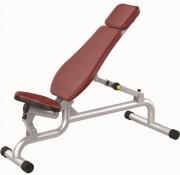 Banc de musculation ajustable - Poids : 31 kg  -  Norme européenne EN957