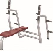 Banc de musculation développé couché - Poids : 50 kg  -  Norme européenne EN957