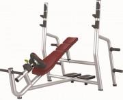 Banc de musculation développé incliné - Poids : 68 kg - Norme européenne EN957