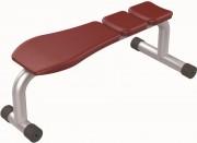 Banc de musculation fixe - Poids : 18 kg  -  Norme européenne EN957