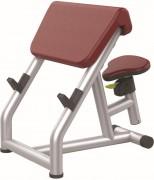 Banc de musculation Larry Scott - Poids : 39 kg - Norme européenne EN957