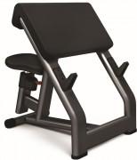 Banc de musculation Larry Scott en acier - Poids : 38 kg - Dimensions L x l x H : 940 x 820 x 980 mm