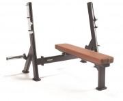 Banc de musculation Olympic Bench Press - Appareil de musculation pour le buste et les pectoraux