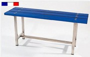 Banc de vestiaire - Longueur : 1.50 m - Hauteur hors tout : 41.8 cm