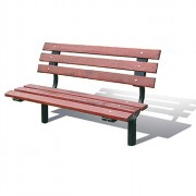 Banc en bois 1500 ou 1800 mm - 2 Longueurs disponibles (mm) : 1500 - 1800